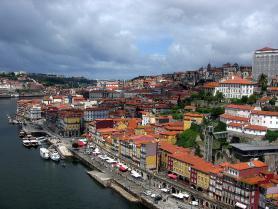 Čtvrť Vila Nova da Gaio v Portu
