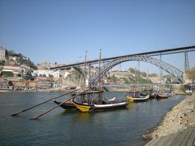 Most Ponte Dom Luís I. v Portu