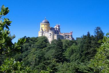 Maurský hrad v Sintře
