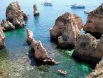 Portugalské pobřeží Algarve