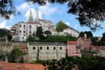 Portugalské město Sintra s historickým centrem