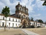 Portugalské město Alcobaça s klášterem