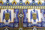 Madeirské malované dlaždice azulejos